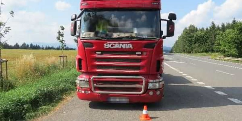 Vážná dopravní nehoda se stala 26. července krátce po 12. hodině na silnici I/14 mezi Lánovem a Vrchlabím.