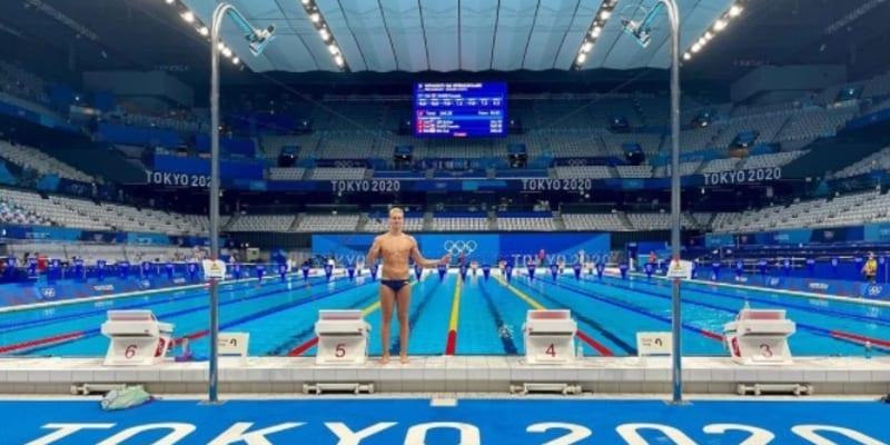 Jan Čejka na olympiádě v Tokiu (autor: Jan Čejka)