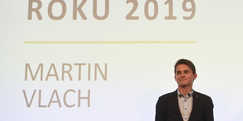 Martin Vlach se stal sportovcem roku 2019.