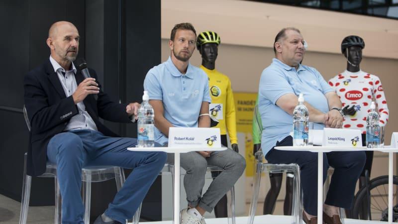 Sazka podporuje sport. Stává se součástí nejprestižnějšího mužského závodu Czech Tour