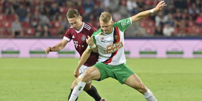 Tomáš Wiesner v souboji s Marcem Grüllem