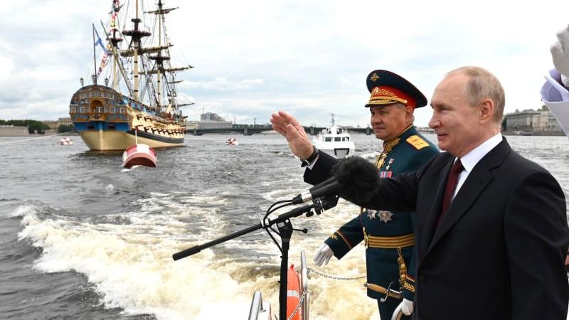 Putin se bije v prsa: Nepřítele najdeme kdekoliv, náš útok může být nepředvídatelný