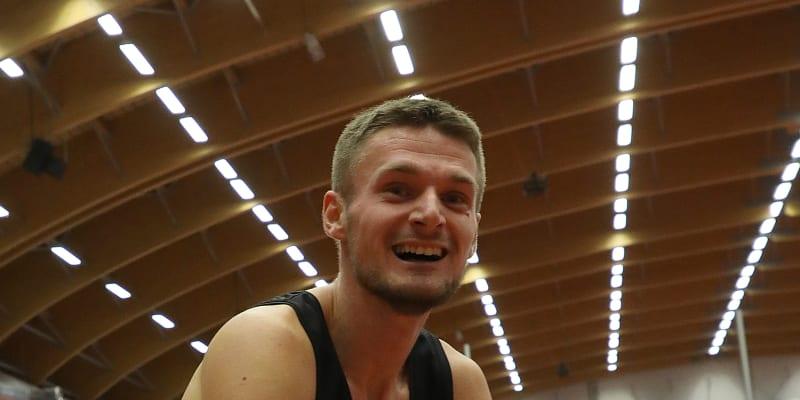 Český atlet Michal Desenský