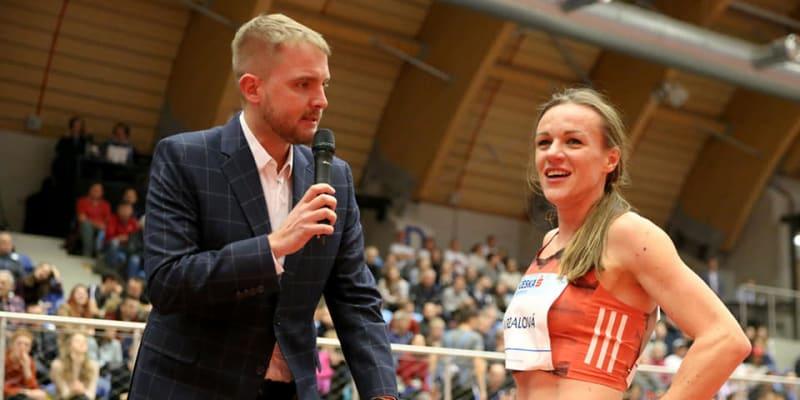 Simona Vrzalová s Liborem Boučkem v roce 2019 (autor: Simona Vrzalová)
