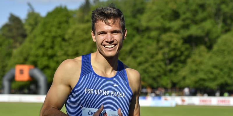 Atlet Jan Jirka je českým rekordmanem na 200 metrů.