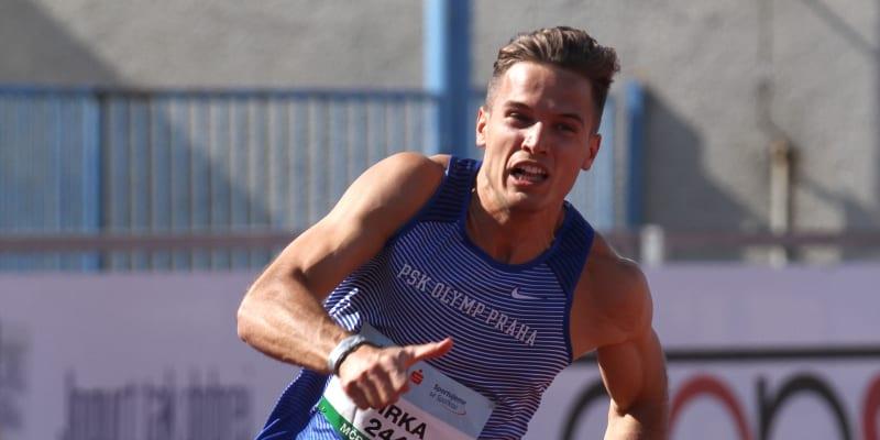 Jan Jirka je několikanásobným mistrem ČR v běh una krátkých tratích.