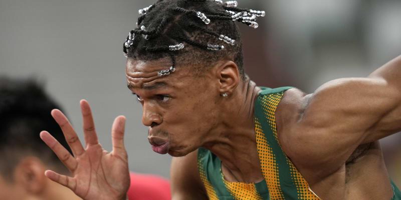 Copánky jihoafrického sprintera Shauna Maswanganyiho si také zaslouží v tomto článku místo.