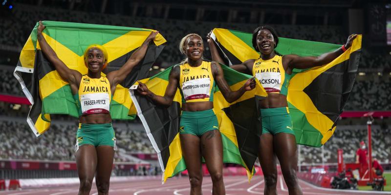 Jamajčanky ovládly olympijskou stovku.
