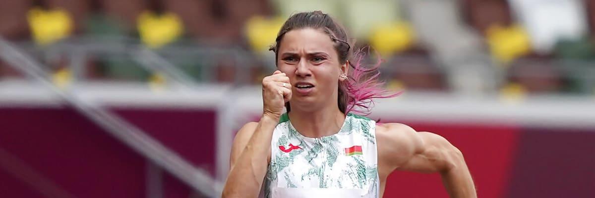 Česko pomůže běloruské běžkyni. Nabídne jí vízum, aby se nemusela vracet z Tokia domů