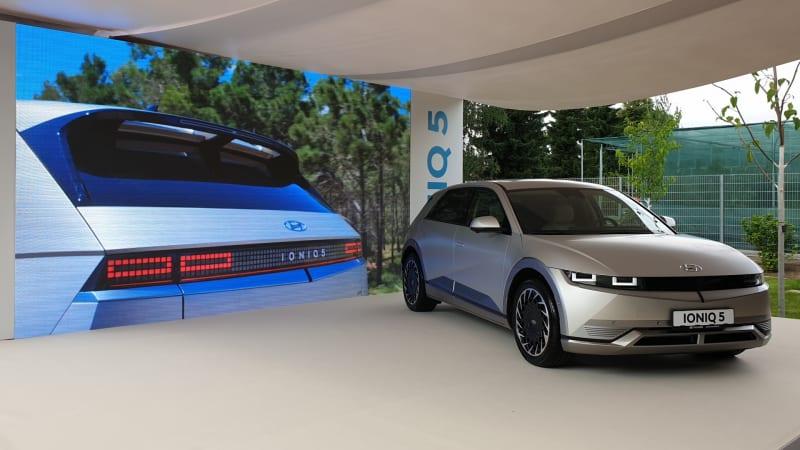Nový elektromobil Hyundai Ioniq 5 ohromuje designem a luxusem