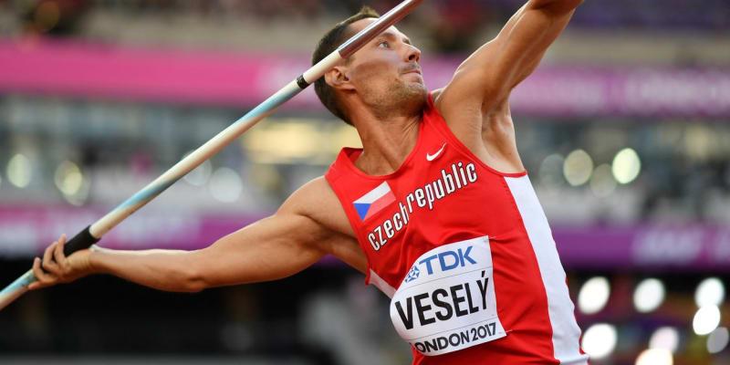 Oštěpař Vítězslav Veselý se v Tokiu účastní už svých čtvrtých olympijských her.
