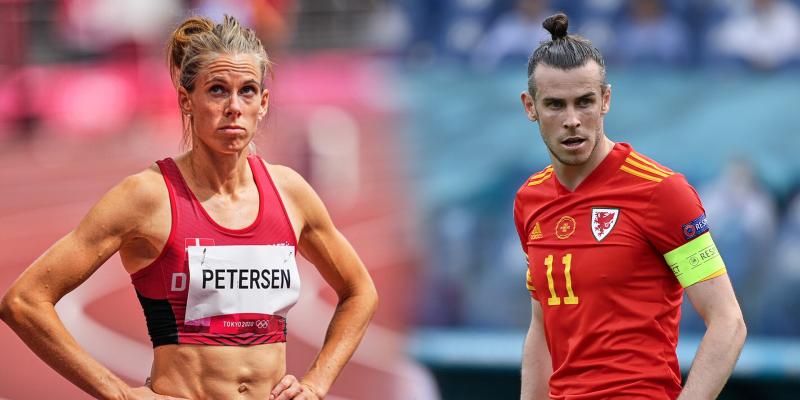 Obličej dánské překážkářky Sary Petersenové leckomu připomínal velšskou fotbalovou superstar Garetha Balea.