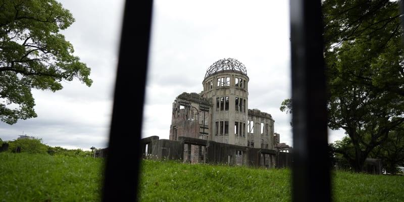 Hirošimský prefekturní palác pro podporu průmyslu, ze kterého se po válce stal Atomový dóm, byl dokončen v roce 1915.