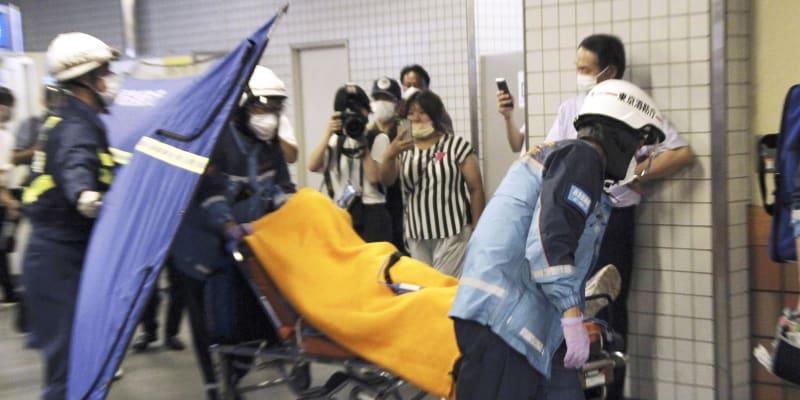 Útočník zranil celkem deset lidí, z toho dva vážně.