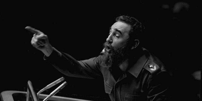 Fidel Castro byl skvělým řečníkem.