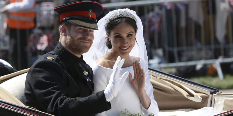 Velkolepá svatba Meghan a Harryho.