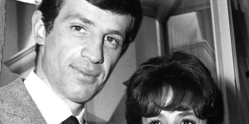 Jean-Paul Belmondo a Jeanne Moreau v roce 1963