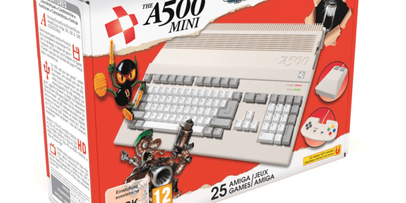 Retro konzole Amiga 500 bude v prodeji na jaře příštího roku.