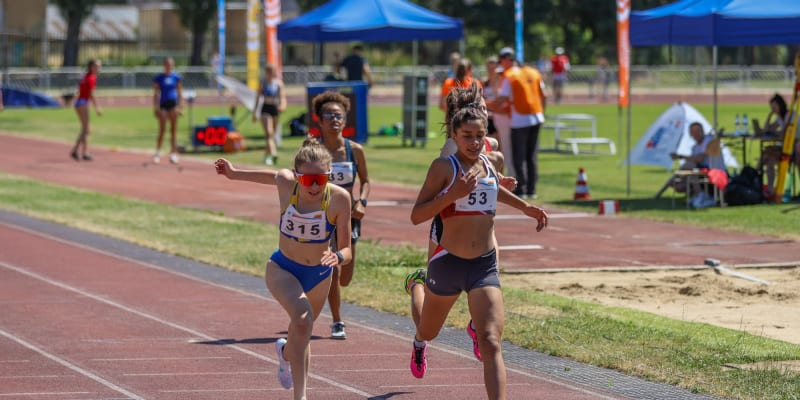 Titul vybojovala v běhu na 1500 metrů.