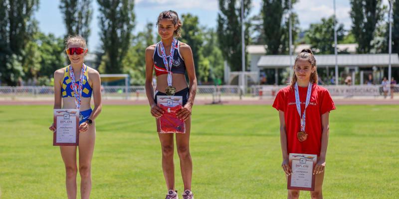 Annamária Horváthová vyhrála v červnu mistrovství dorostu na Slovensku.