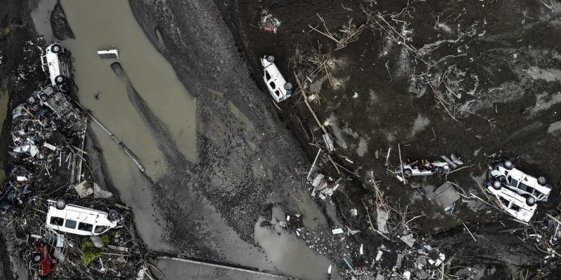 Povodně v Turecku.