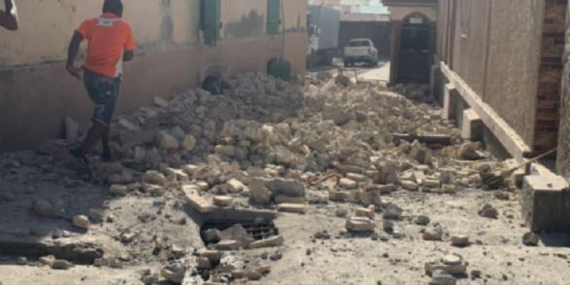 Zkáza po zemětřesení na Haiti (autor: JCOM Haiti)
