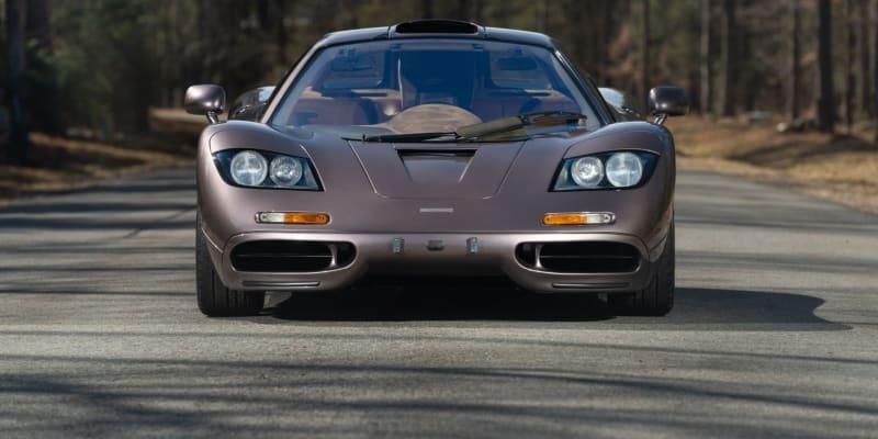 McLaren F1, který se v USA vydražil za rekordní sumu.