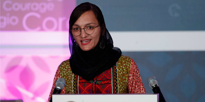 Zarifa Ghafariová, nejmladší starostka v Afhánistánu