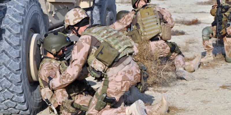 Čeští vojáci během dvaceti let absolvovali řadu cvičení.