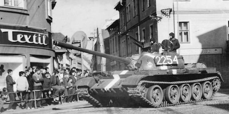 Polští vojáci v Bruntálu