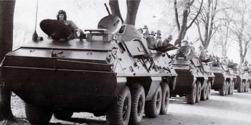 Polská armáda opouští v říjnu 1968 Československo.