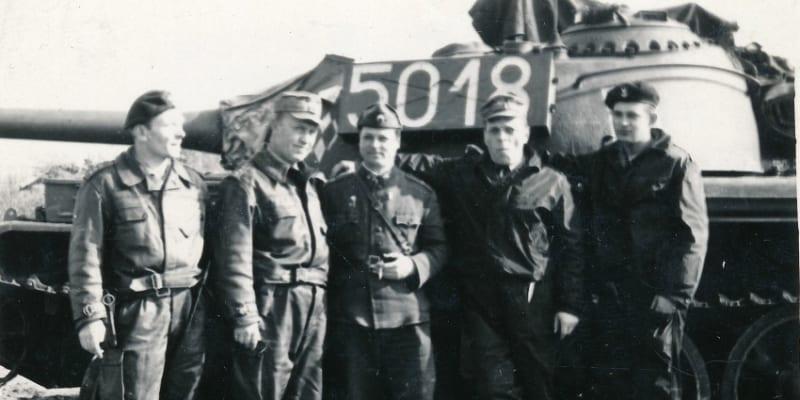 Polští tankisté v srpnu 1968 v Československu
