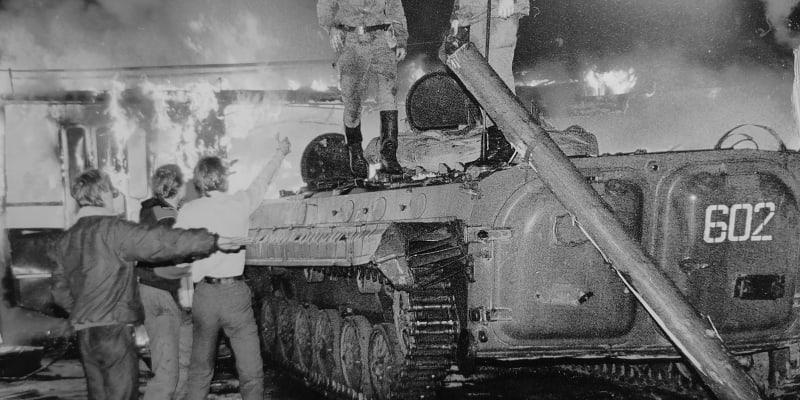 Nezdařený puč v Moskvě, srpen 1991