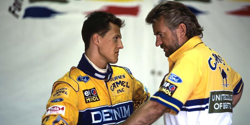 Michael Schumacher a Willi Weber