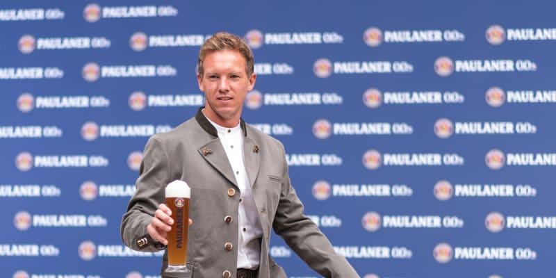 Trenér Bayernu Julian Nagelsmann