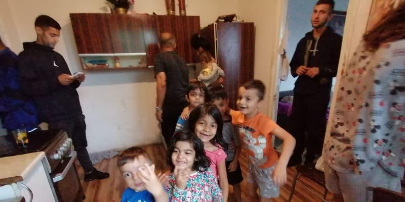 V rodině Kroščenových v Ostravě,  kupa vlastních dětí i kupa vnuků