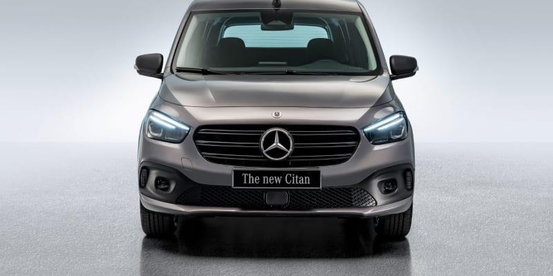 Mercedes-Benz Citan s kempovací vestavbou.