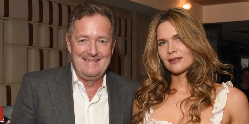 Piers Morgan s manželkou Celií Waldenovou