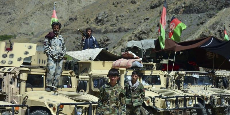 Bojovníci z Afghánistánu