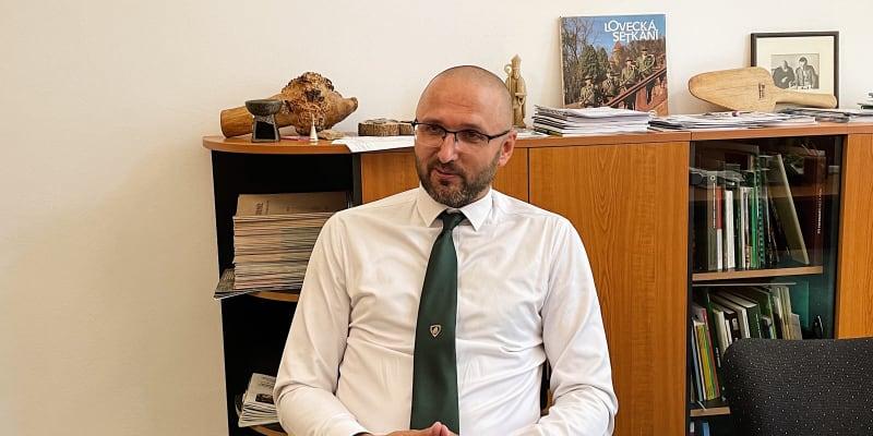 Ředitel Střední lesnické školy v Písku Michal Grus
