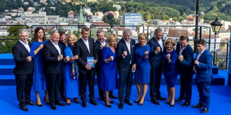 Hnutí ANO ve čtvrtek zahájilo kampaň u restaurace Větruše v Ústí nad Labem.