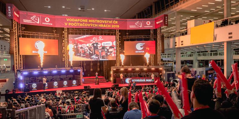Vodafone MČR v počítačových hrách přidává tituly PUBG a Hearthstone.