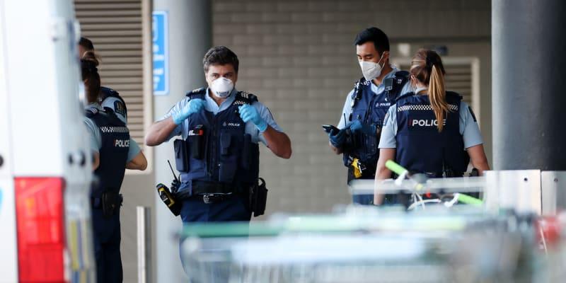 Útok v nákupním centru na Novém Zélandu