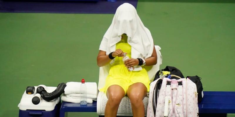 Pro Ósakaovou bylo US Open teprve třetím turnajem od Roland Garros, z kterého odstoupila kvůli psychickým problémům.