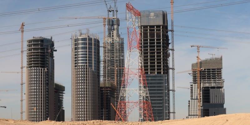 Stavba nového egyptského hlavního města je v plném proudu.