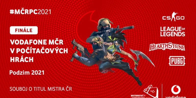 Grafika pro letošní Mistrovství ČR v počítačových hrách