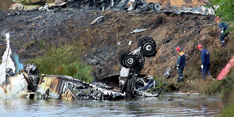 Místo pádu letadla ihned naznačovalo, že šance na přežití byla minimální.