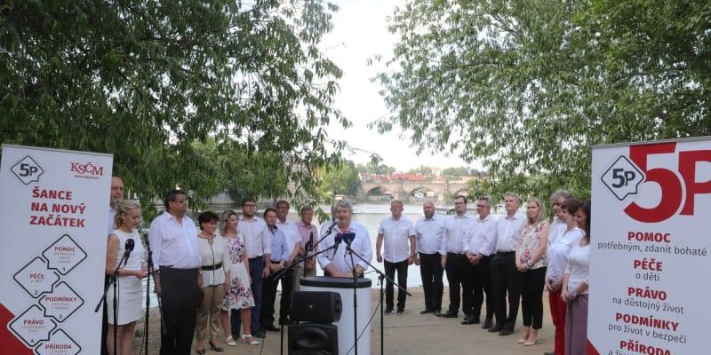 Zahájení kampaně KSČM
