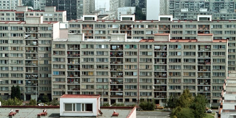 Jižní Město, snímek z roku 2000
