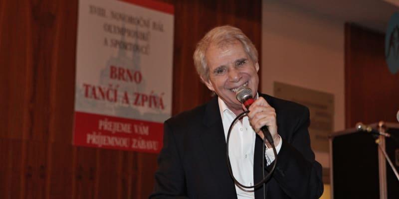 Josef Laufer na bále v Brně (rok 2015)